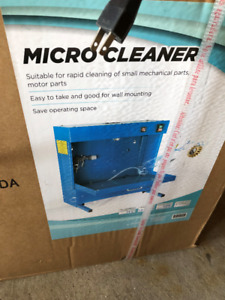 Parts washer cleaner