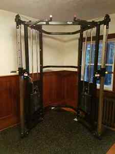 Commercial Dual Adjustable Pulley Functional Trainer - incl. DEL