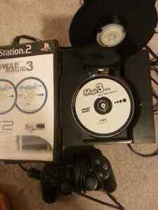 Playstation 2 with Swap Magic discs to play backup and flip top Kitchener / Waterloo Kitchener Area image 3
