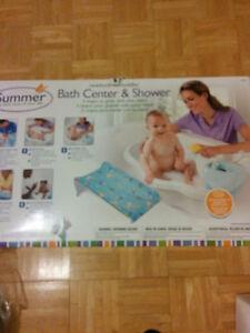 Bath center. With shower