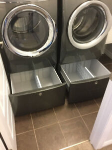 PEDESTALS FOR WASHER DRYER FOR SALE! ONLY 3 MONTHS OLD! $450/OBO