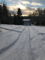 Snow removal services required for cottage in Whitestone, ON.