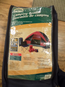 4 person tent. camping combo