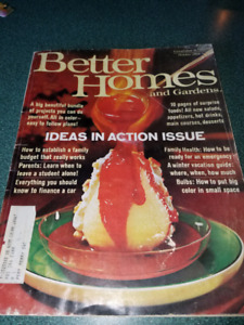Vintage October 1966 Better Homes and Gardens magazine