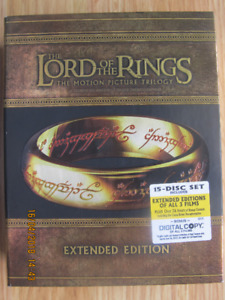 THE LORD OF THE RINGS, EXTENDED EDITION – BLUE-RAY DISC