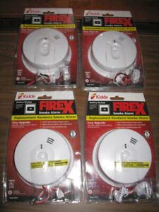 Kidde Firex Hardwired Smoke Alarm with Battery Backup NEW