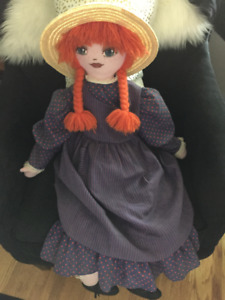Anne of Green Gables Rag Doll-Perfect condition.