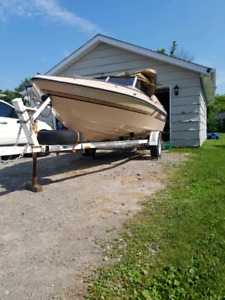 1986 sunray 16.5 ft
