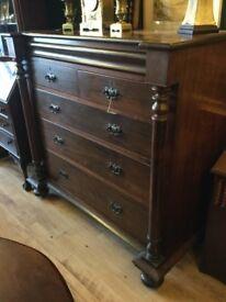 Antique drawer chest