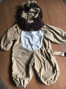 Adorable Lion Costume (Fits 2-3 Year Old)
