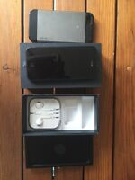iPhone 5 with original box, headphones and case