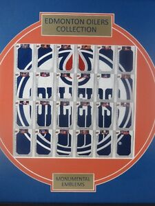 2013-2014 Edmonton Oilers Collection Monumental Emblems, Gretzky Edmonton Edmonton Area image 2