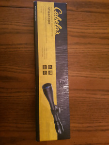 Cabela's riflescope NEW IN BOX