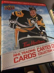 Looking to trade 2016/2017 TIM HORTONS NHL hockey cards