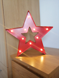 LED Metal Star Light