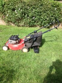 Mount field 35 classic petrol lawnmower