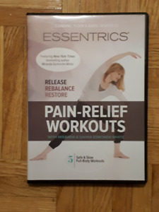 Essentrics Pain Relief Workout DVD's