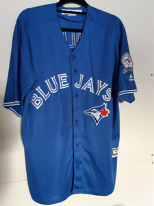 Toronto Blue Jays Josh Donaldson XL Jersey  40th Season Patch