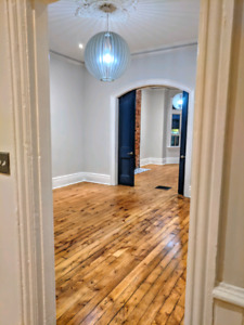 Beautiful, large 2 bed or 1 +den