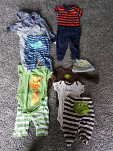 Boy 3 month old clothes