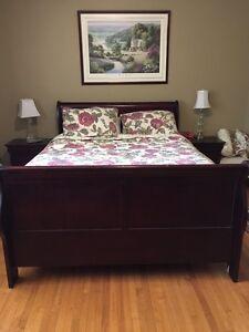 Full queen louis phillippe bedroom set