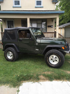 "Jeep TJ Wrangler (Trail ready) LCOG on 33"" tires"