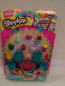 SHOPKINS Season 3 Pack of 12 Shopkins NEW UNOPENED!