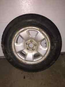 205/70R15 tires w/rims Prince George British Columbia image 1