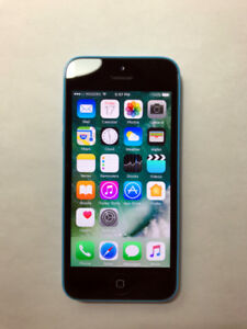 FACTORY UNLOCKED Blue 16GB iPhone 5C (A Condition)