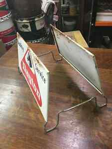 Dayton Tire Advertising Tire Stand Tin Signs Regina Regina Area image 2