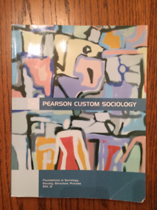 SOC 111 - Foundations in Sociology U of S textbook