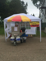 Hot Dog Cart For Hire