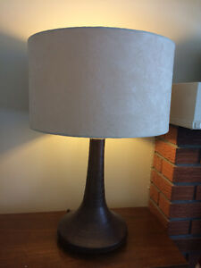 Solid Wood living rm or bedside lamps for sale (2)