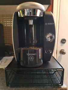 Bosch Tassimo Coffee Maker and T-Disc Drawer