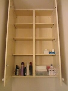 Bathroom vanity and cupboard for sale