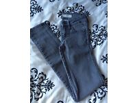 Grey jeans size 6
