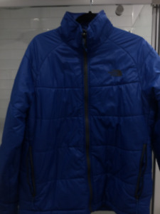 Men's Northface large mint $40 firm insulated