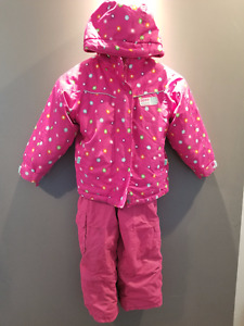 Snowsuit - Jacket and pants, fleece sweater; Size 4/5
