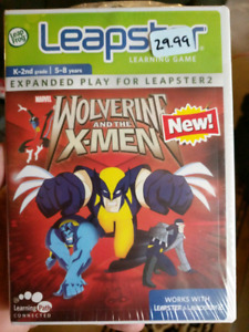 """Wolverine and the x-men for leapster """"Brand New"""""""