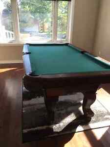 New pool table & accessories Kawartha Lakes Peterborough Area image 1