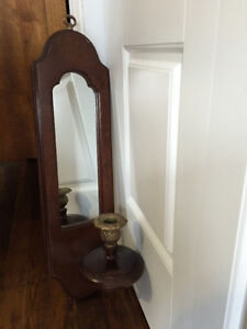 Wall Plaque with mirror