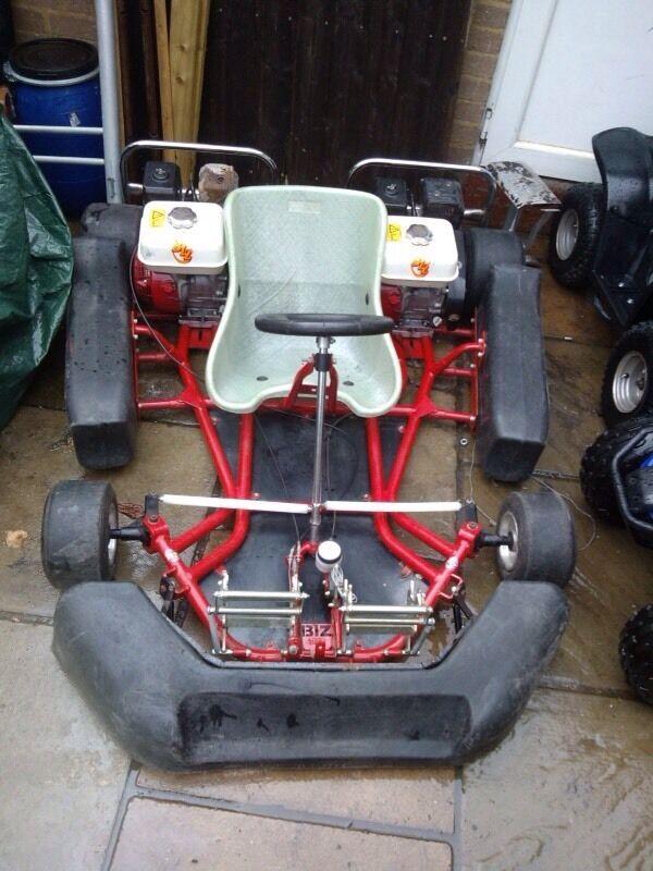 Biz Pro Go Kart Twin Engine Honda Gx200 Not Pit Bike Quad