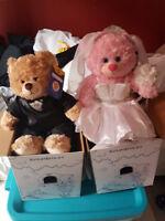 Bride and Groom Build-a-Bears