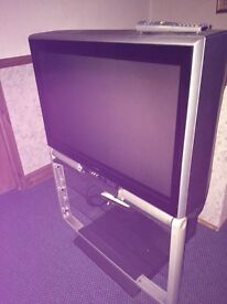 Toshiba TV and stand