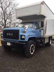 "NEW PRICE"" GMC TOPKICK 14.5' Cargo Box truck"
