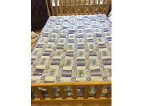 Second hand double sprung mattress