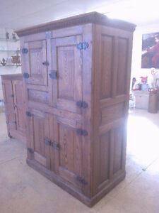 Antique Oak Ice Box--see pictures--REDUCED FROM $3500