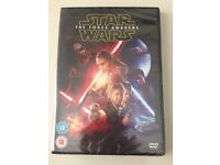 Star Wars DVD. The force awakens. Unopened