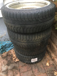 Michelin Winter Tires and Rims