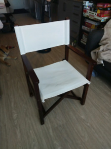 """Director's chair"" accent chair"